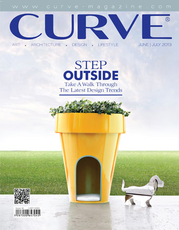 CURVE magazine cover June/July 2013
