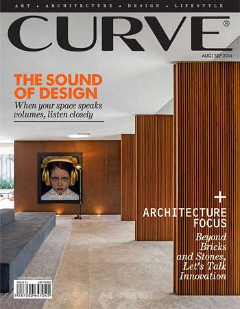 CURVE magazine cover August/September 2014
