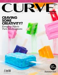 CURVE magazine cover June/July 2017