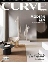 CURVE magazine cover October/November 2019