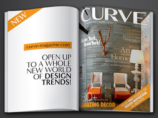 a unique publication curve brings you the essence of creativity while giving you an insight into the art and design world featuring the latest innovations - Architectural Designs Magazine